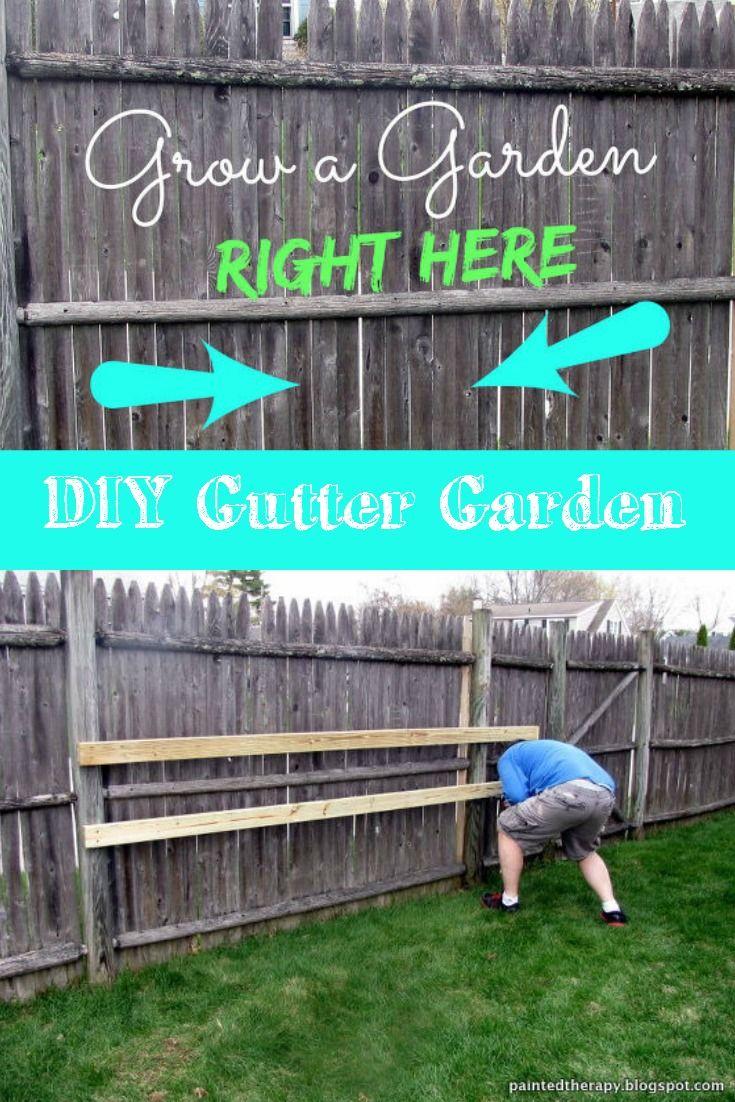 Growing strawberries in gutters diy idea - Diy Gutter Garden