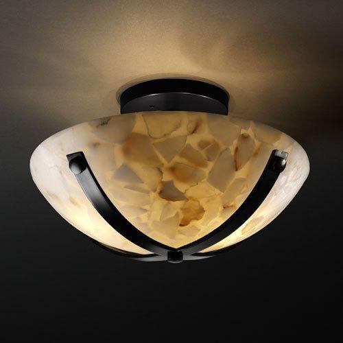 Louie Lighting - Justice Design Group ALR-8760 Dakota 14  Round Semi-Flush & 27 best Misc images on Pinterest   Bowl light Light fixtures and ... azcodes.com