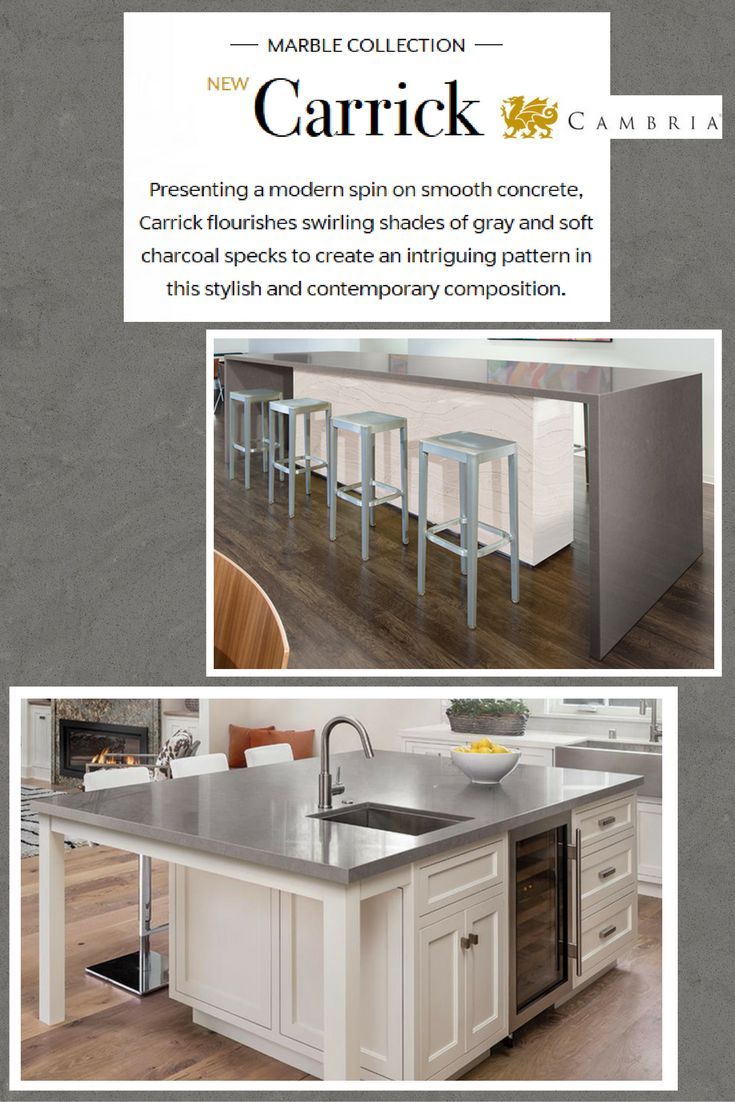 Cambria quartz denver shower doors amp denver granite countertops - Introducing Carrick One Of The Newest Additions To The Magnificent 7 Line By Cambria Offering The Durability And Ease Of While Maintaining A Classic