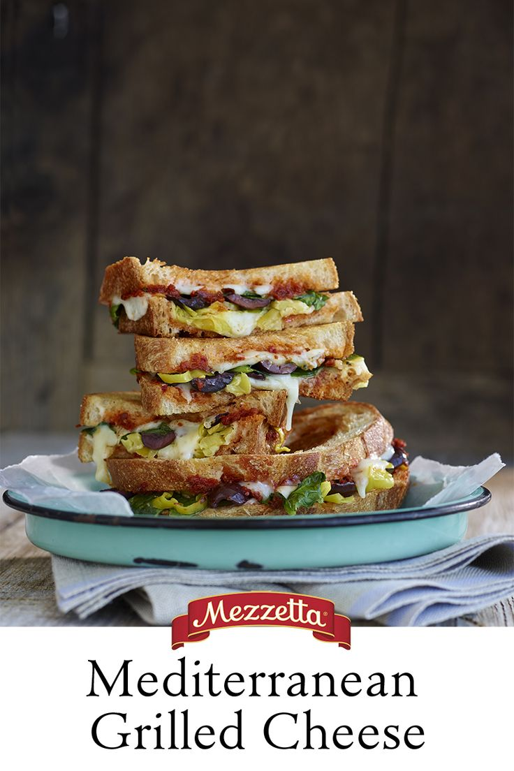 We love putting a Mediterranean spin on classic dishes, so if you're anything like us you'll love this Mediterranean Grilled Cheese! Learn how to make this toasted treat that simply oozes with melted cheese.