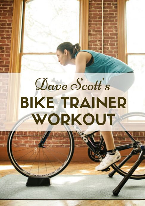 "Some triathletes love bike trainers and some hate them, but most triathletes can't avoid them - especially in the winter. From newbie to expert everybody's in the same boat, including Dave Scott: ""I do get on the trainer when the weather is lousy,"" he says, ""but I don't like it."" Click here to find ""Dave Scott's Bike Trainer Workout"" 