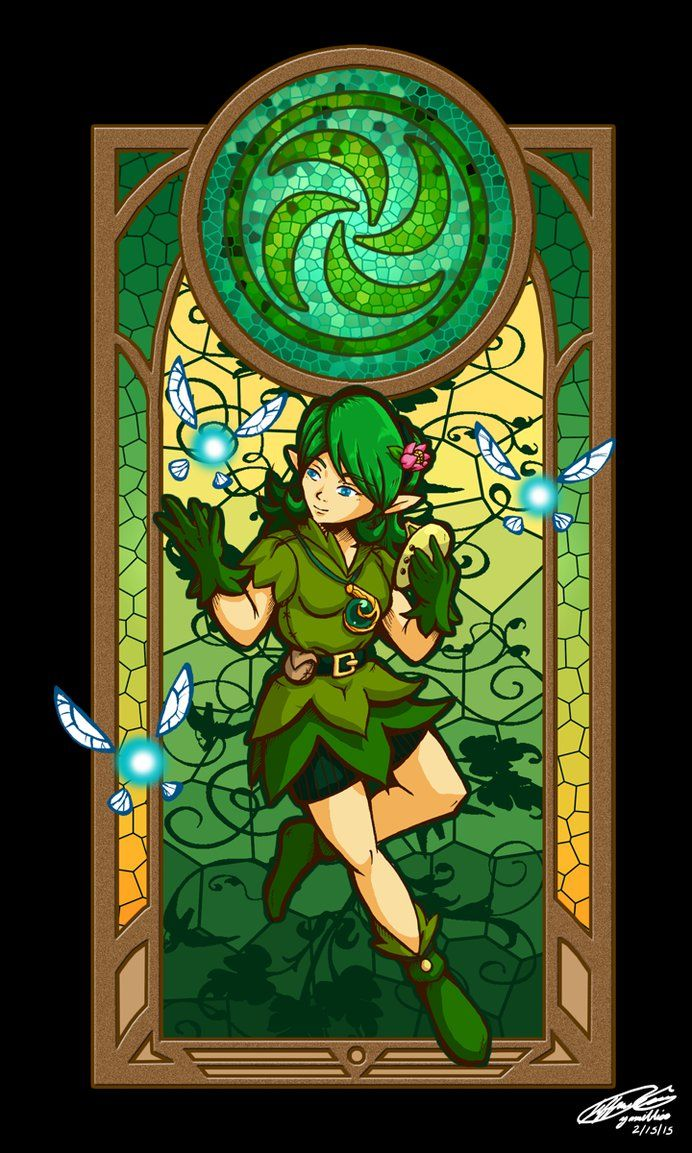 Sage Of The Forest By Yamibliss On Deviantart Zeldas