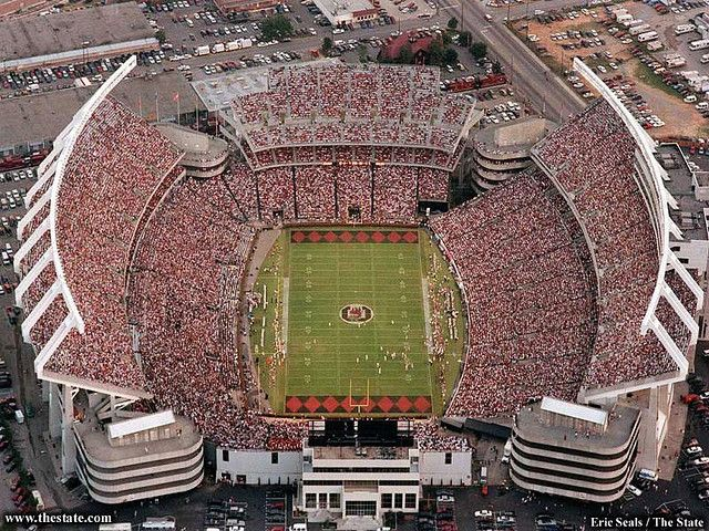 Williams Brice Stadium, Columbia, SC Home of the University of South Carolina Gamecocks