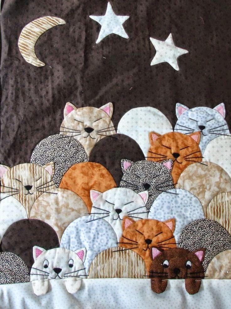 Edredón en Beauce, Beauce - Arte Textil: mayo, adhérenthes noticias