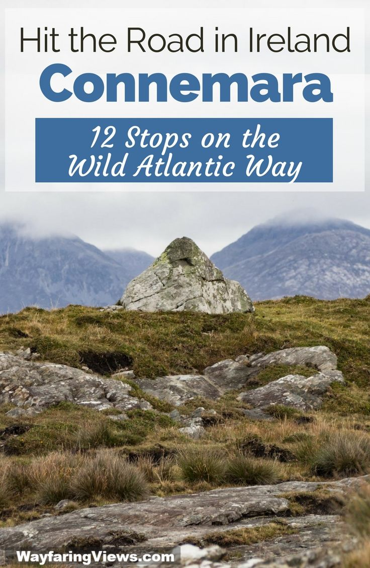 Take a road trip from Galway to Connemara with this 2-day itinerary. | West Coast Ireland | Country Galway | Cliften Sky Road | Kylemore Castle | Wild Atlantic Way #ireland #WildAtlanticWay #roadtrip #galway