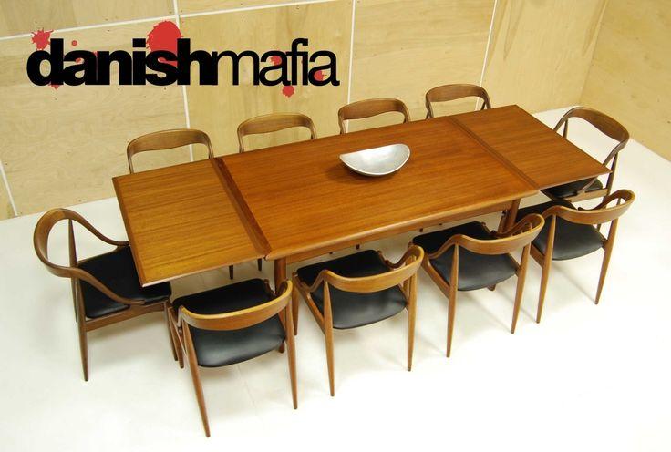 Mid Century Teak Dining Room Set