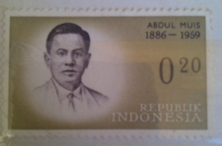 collection stamp series legend of heroes indonesia