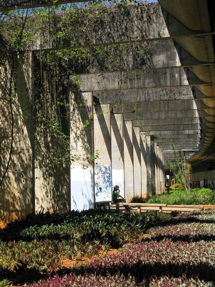 Instituto Central de Ciências, Universidade de Brasilia, built between 1963-1971, Joao Filgueiras Lima, Lucio Costa & Oscar Niemeyer