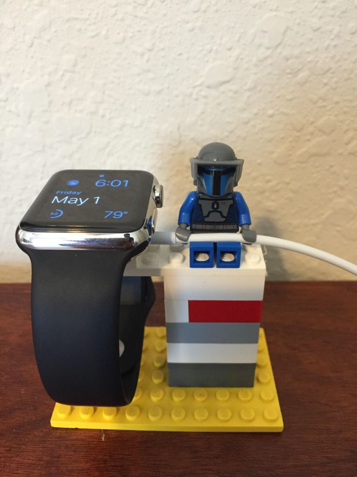 Lego watch stand
