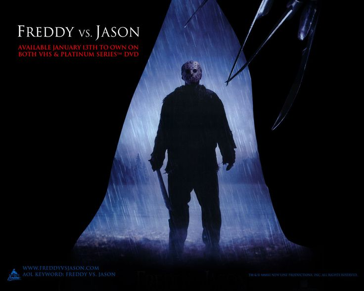 Watch Streaming HD Freddy vs. Jason, starring Robert Englund, Ken Kirzinger, Kelly Rowland, Monica Keena. Freddy Krueger and Jason Voorhees return to terrorize the teenage population. Except this time, they're out to get each other, too. #Horror #Thriller http://play.theatrr.com/play.php?movie=0329101
