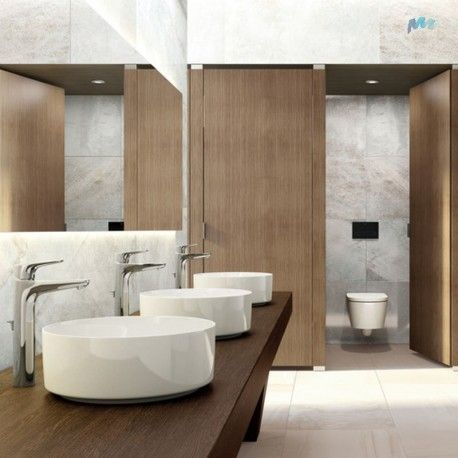 Mejores 15 im genes de lavabos en pinterest medio ba os for Lavabos cuadrados sobre encimera