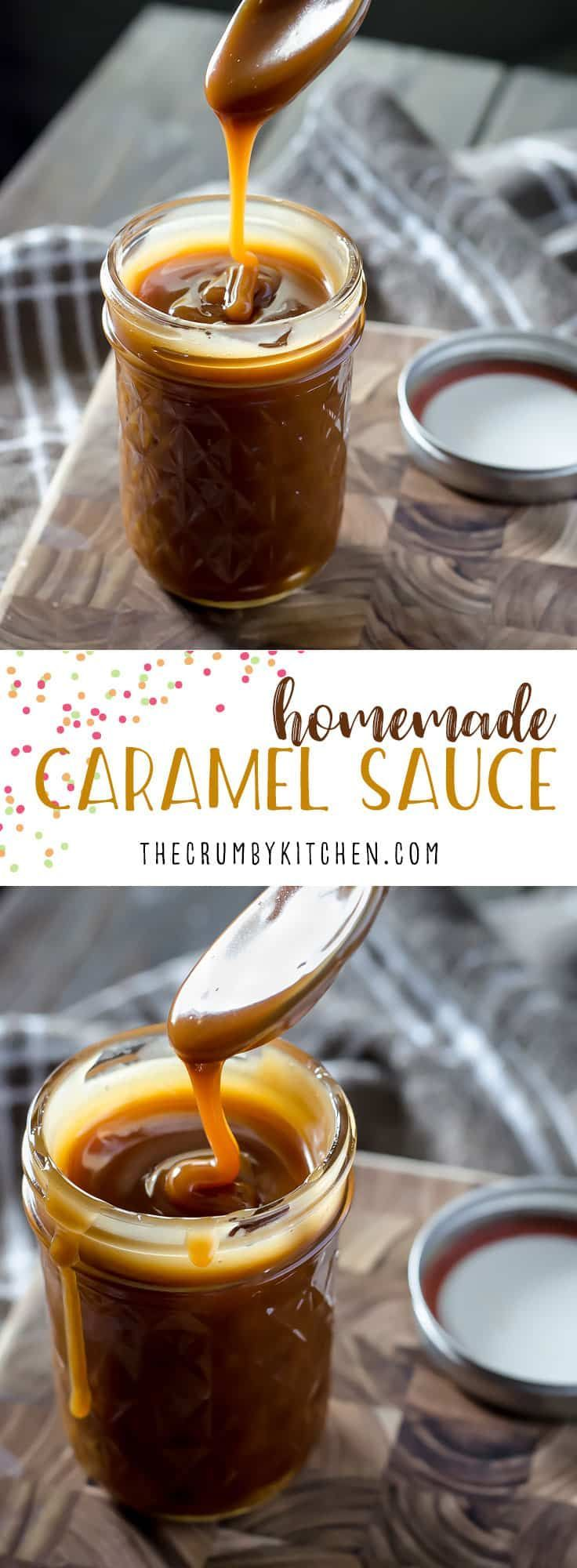 Ditch the store-bought jar!Homemade Caramel Sauce can be yours to drizzle over whatever you please in about 20 minutes with only 3 ingredients! #homemade #diy #caramel #sauce #dessert #recipe