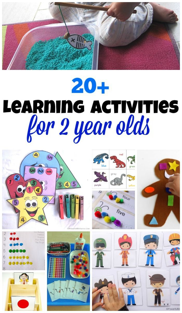 20 Learning Activities And Printables For 2 Year Olds Activities For 2 Year Olds Preschool Activities Daycare Activities