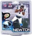 Cam Newton Manufacturer: McFarlane Toys Series: McFarlane Toys NFL Sports Picks Football Series 31 Action Figures Release Date: November 2012 For ages: 4 and up Details (Description): Cam Newton returns to the lineup with an all-new pose. The 2011 NFL Offensive Rookie of the year took the league by storm, setting countless rookie records, and became a fixture on ESPN. Catch him in NFL 31 wearing his Carolina Panthers black home uniform.