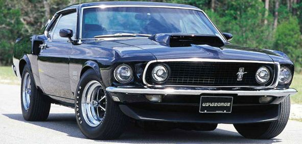1969 Ford Mustang Boss 429 - yes please