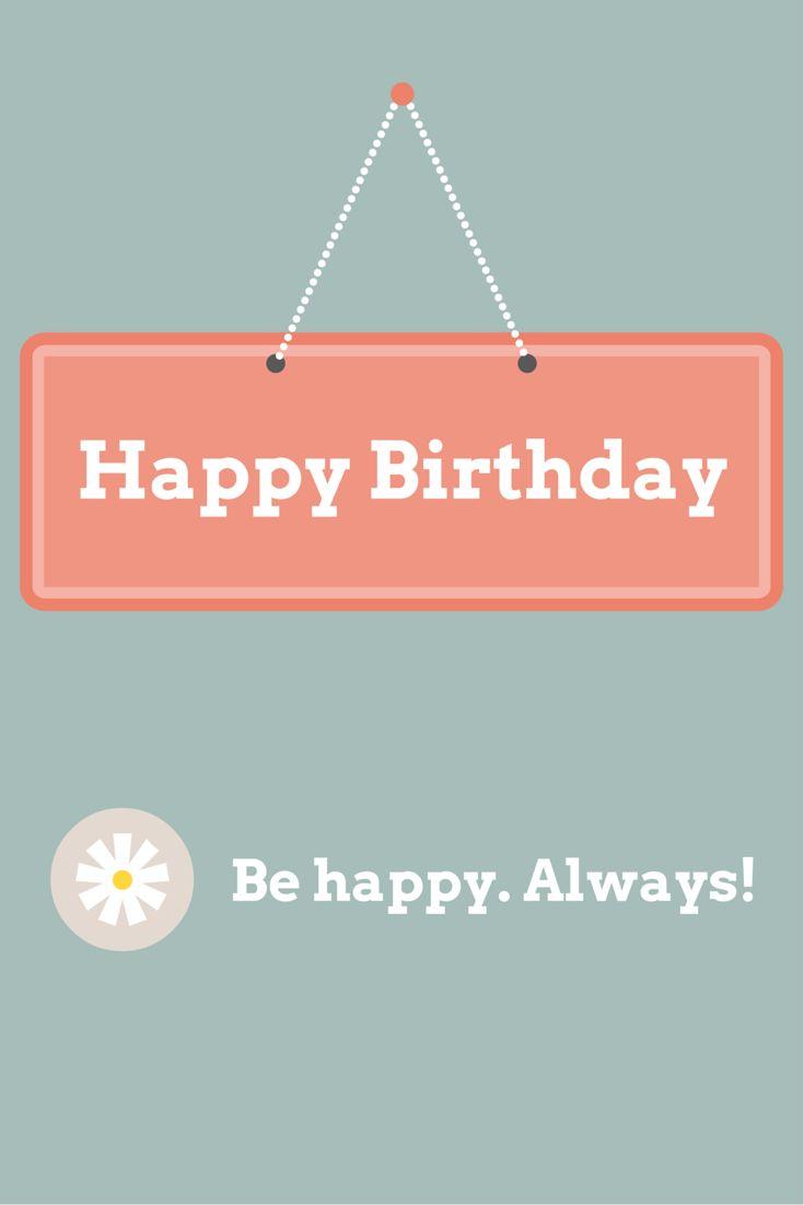 Happy Birthday Card Quotes