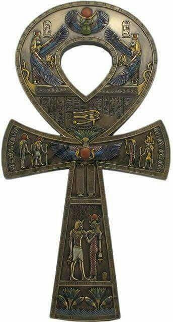 ANKH - La llave de la vida. Símbolo de longevidad egipcio.