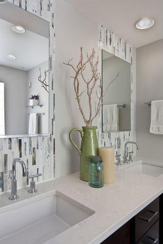 Wrightwood Street Residence Contemporary Yet Modern Master Bathroom