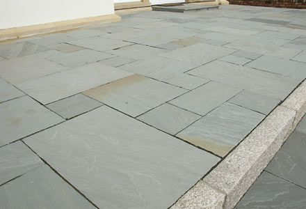 Stoenmart offers Kandla grey sandstone paving for interior and exterior home decor. We offer sandstone paving in various finishes like honed, sawn cut, tumbled, polished etc all over India.