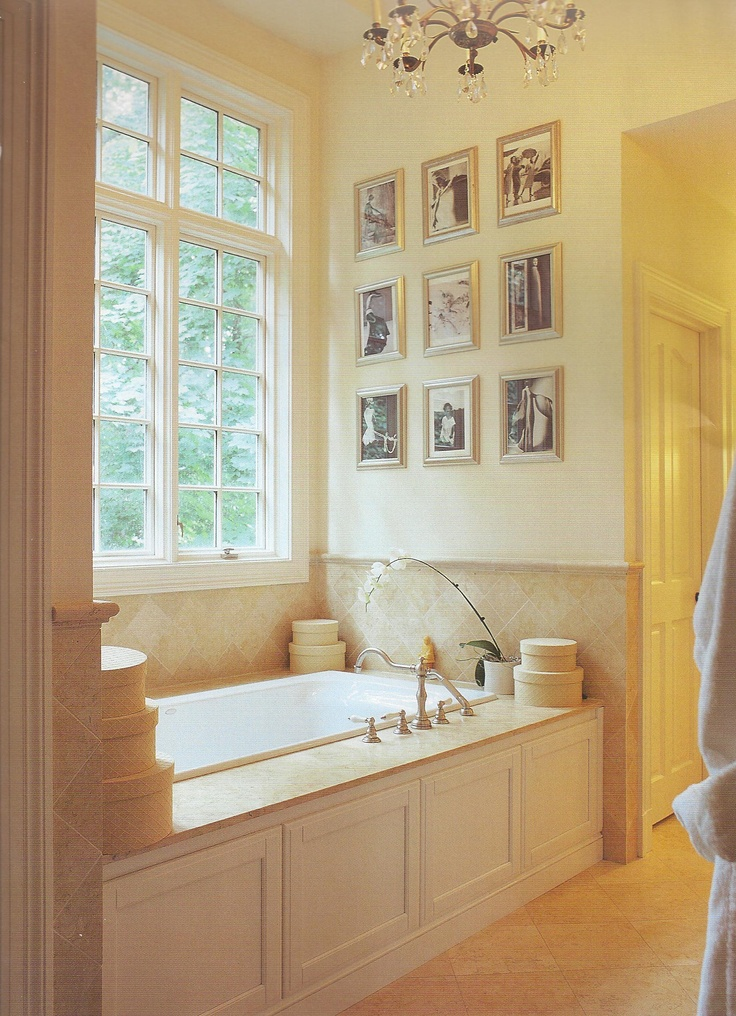 17 best images about master bathroom ideas on pinterest for Master bath windows