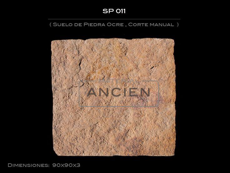 #Suelo #Piedra #Ocre #, #Corte #manual #Antiguo #Antigua  #material #materialancien #ancien #materialancien.com #derribos #venta #decoracion #oferta #segunda mano