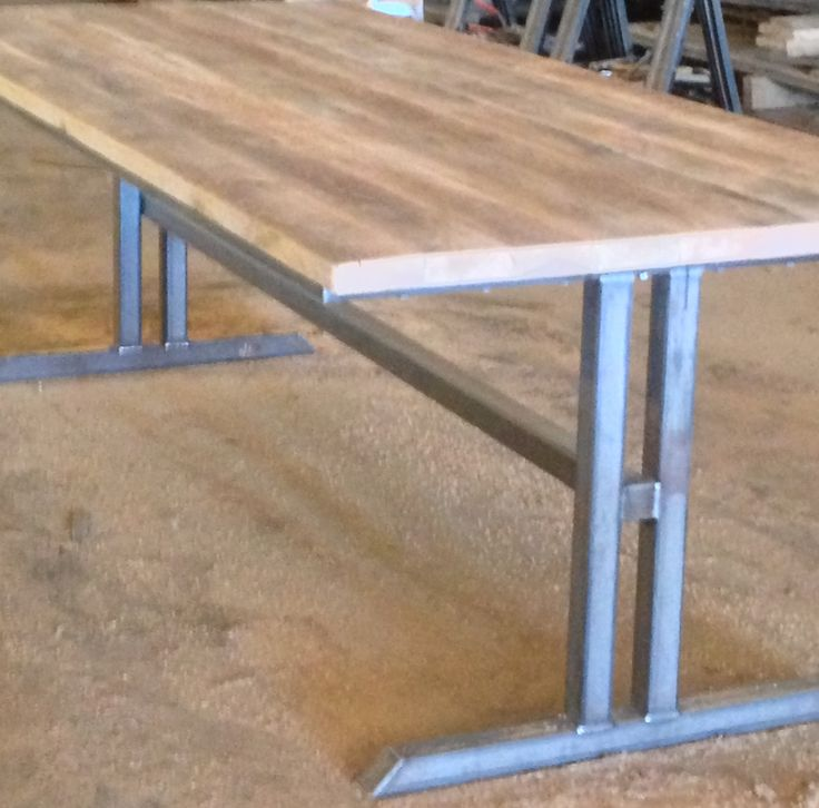 Fabricated Steel Coffee Table: 24 Curated Metal Tables Bases Ideas By Farmwood