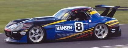 """www.hansenproducts.co.nz Hansen Sponsorship - Carl Hansen Racing visions of late 80's WWF superstars Luke and Butch known as """"The Bushwhackers"""", but no we are talking about the very accomplished team of Northlanders that run Carl Hansen's monster TVR Tucson."""