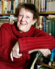 """Margaret Mahy, Children's Author, New Zealand. """"Ms. Mahy wrote more than 150 books, including illustrated stories for small children like """"A Lion in the Meadow"""" (1969), """"Beaten by a Balloon"""" (1998) and the best-selling """"Bubble Trouble"""" (2009), as well as young-adult novels, including """"The Haunting"""" (1982). ... Ms. Mahy's stories often tapped what she called the """"surprises lurking in the heart of everything."""" Her own life did, too."""" Died July 2012. Will be sadly missed."""