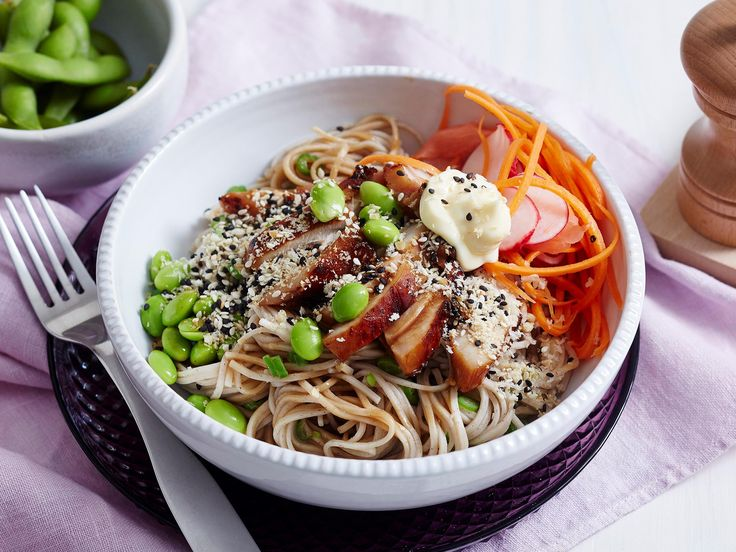 Change up the weekly dinner menu with this tasty recipe. Easy to make and serve and delicious to eat, these bowls are full of traditional Japanese flavours and healthy veggies.