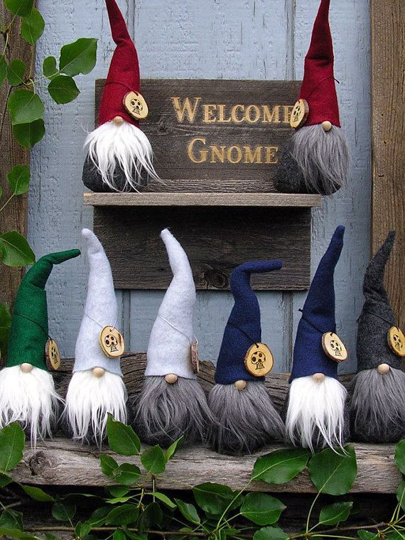 GNOMES 9.5 Handcrafted by The Gnomes Makers by TheGnomeMakers