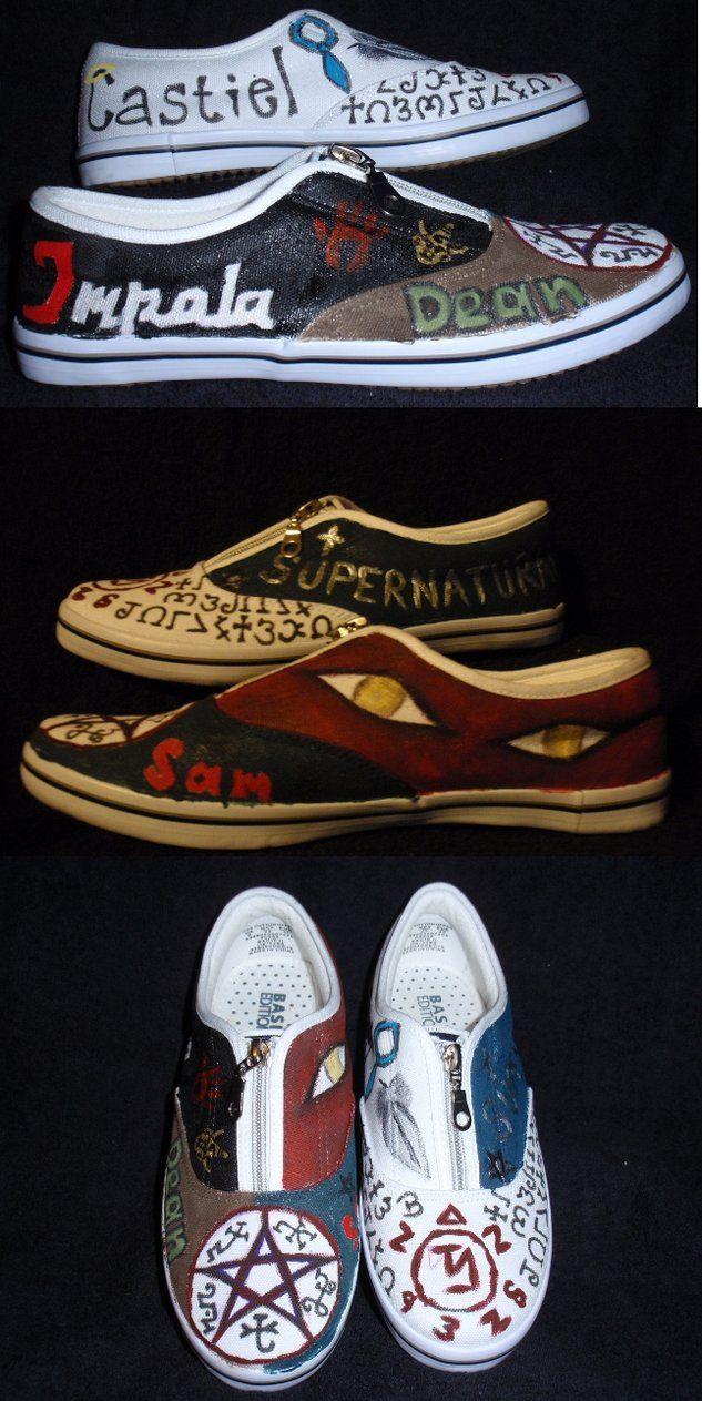 supernatural shoes