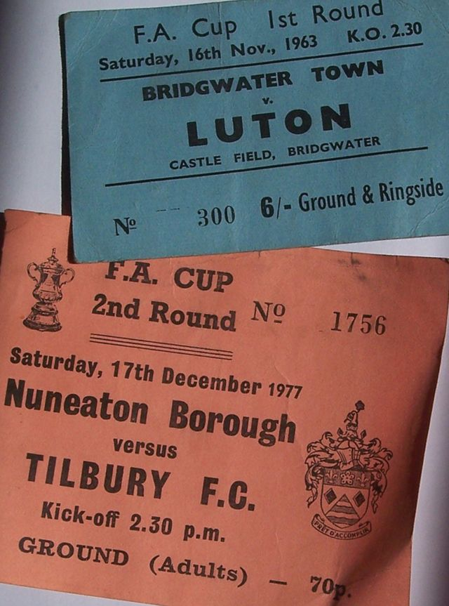 the roamnce of the cup - luton town, nuneaton borough, tilbury fc, bridgwater town