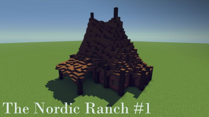 Minecraft Let's Build: The Nordic Ranch #1