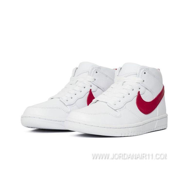 激安通販 ナイキラボ ダンク ラックス チャッカ x リカルドティッシ Nikelab Dunk Lux Chukka x Riccardo Tisci 910088-100 WHITE/RED WMNS/MENS ホワイト/レッド レディース/メンズ ランニングシューズ