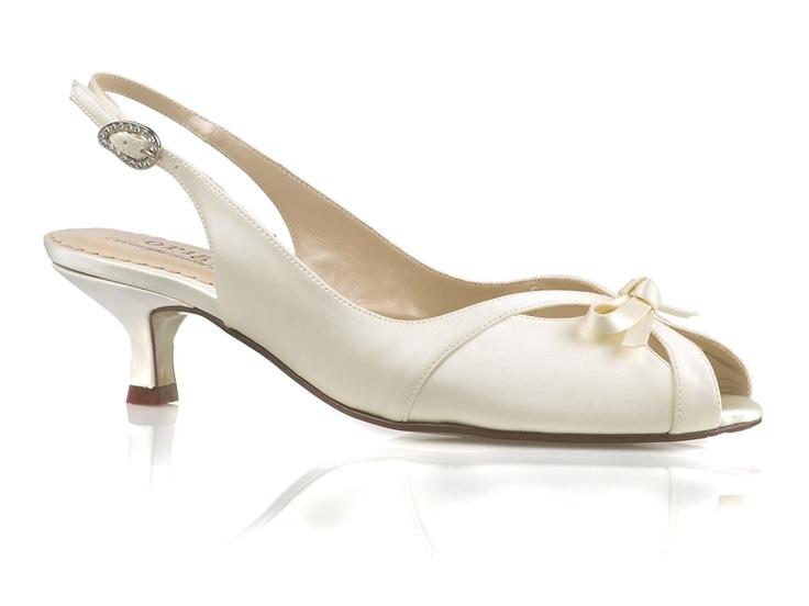 Kitten Heel Bridal Shoes