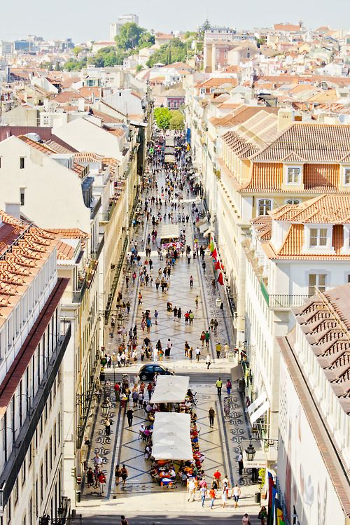 Rua Augusta, Lisboa.