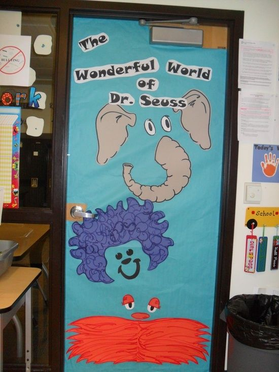 Classroom Decorations Dr Seuss ~ Best images about door decor on pinterest reindeer