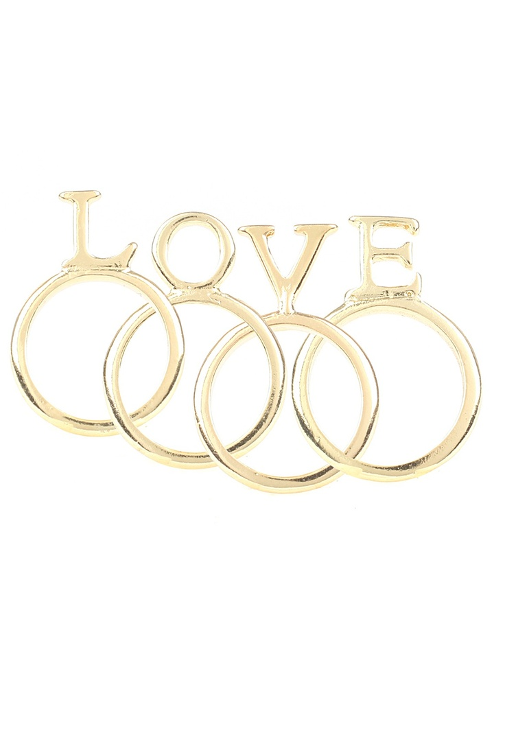 Ericka Love Ring Stack