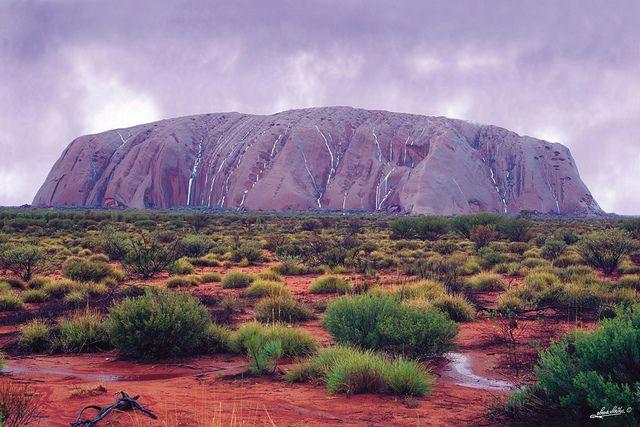 Desert Storm around Uluru / Ayers Rock, Northern Territory, Australia. - Flickr - Photo Sharing!