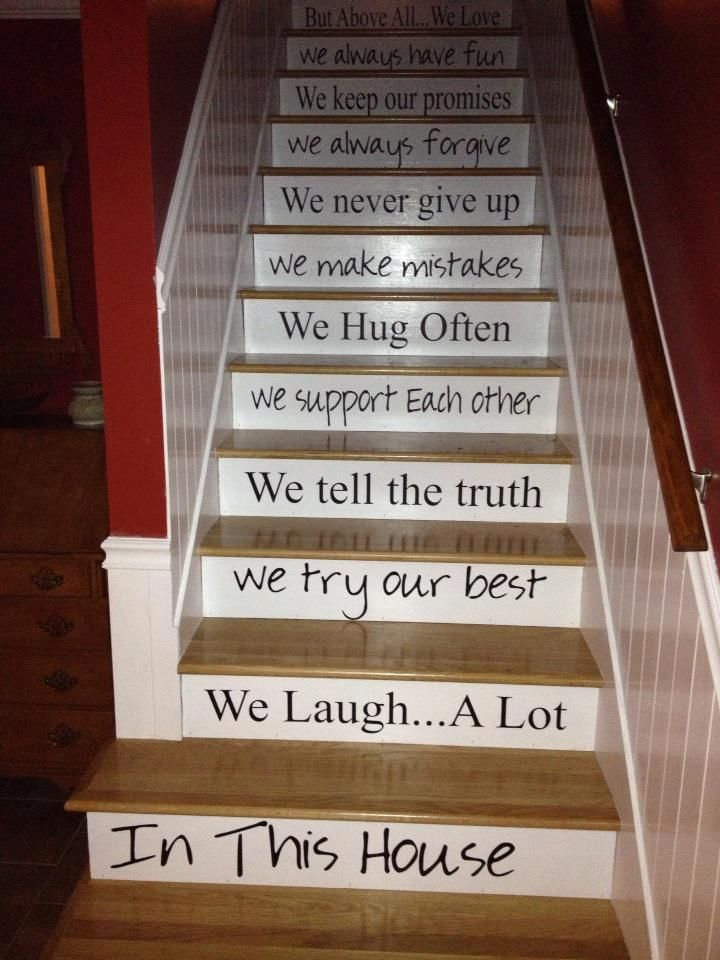Love these decals - What Will Your Walls Say? A Giveaway | Paths of Wrighteousness
