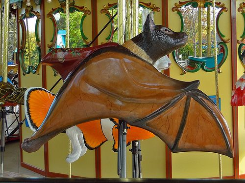 "ascoldasearth: ""gothiccharmschool: ""plenilune: ""BREAKING NEWS: CAROUSEL BAT EXISTS "" CAROUSEL BAT! "" ALL I EVER WANT """