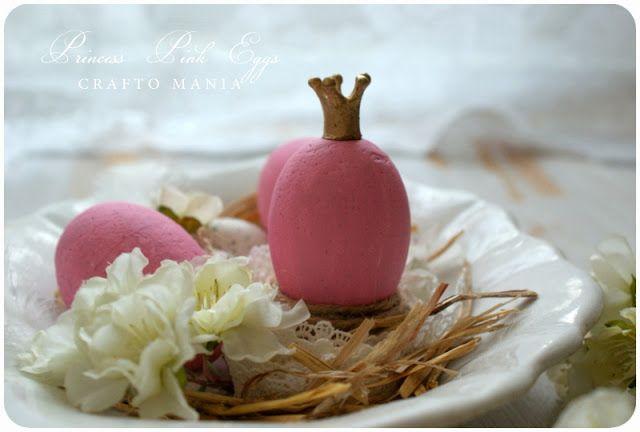 crafto-mania: Princeznovské vajíčko / Princess Easter Egg