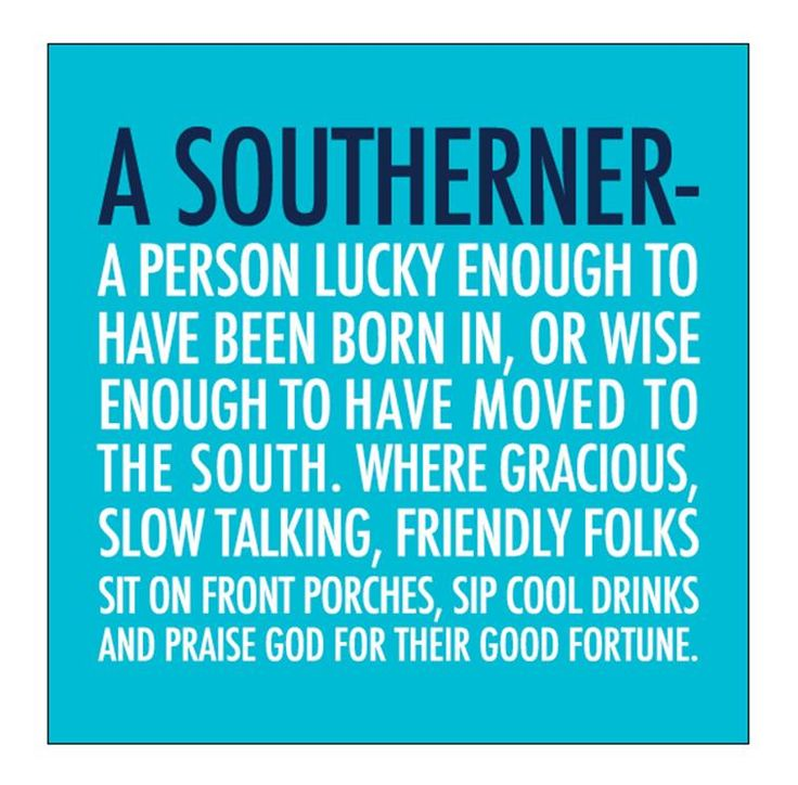 20ct A SOUTHERNER Beverage Napkins - Click image to Purchase!