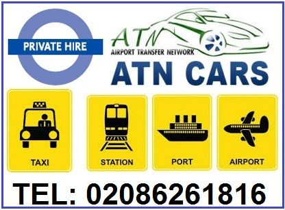 ATN Cars offer the best Mini-cabs/chauffeur service to and from train/tube stations, hotels, houses, university residents/halls, airports, cruise ports, and major UK cities. We have a fleet of vehicles to suit your budget and seating requirements for your London minicab transfers.