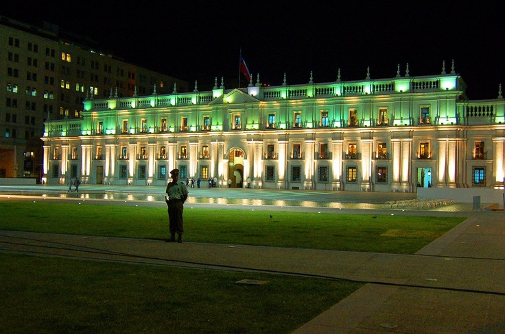 "Santiago - Chile. La Moneda. Our ""White House"""