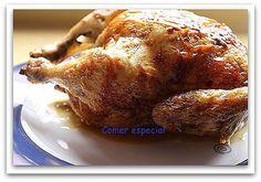 Aprende a hacer pollo al horno de forma fácil ~ Comer especial