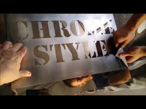 Hydro króm (CHROME STYLE) gyártás, alapanyag értékesítés. Króm megjelenés (szinte) bármire http://chromestyle.hu/krom-chrome-painting-hydrochrome