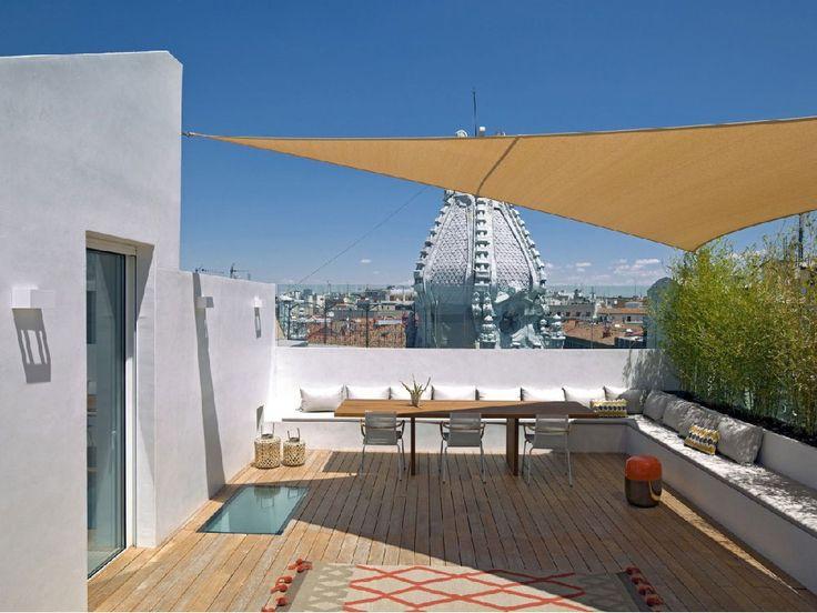 Appartamento su due livelli con terrazza sul tetto