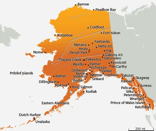 Best Alaska Things We Did Images On Pinterest Alaska - Alaska city map