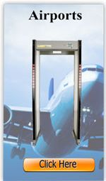 There are two types of walk through metal detectors that are now used in different places. click here http://www.pti-world.com/walk-through-detector/.